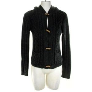 Derek Heart Women's Medium Knit Hoodie Sweater